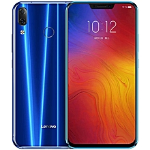 Z5, 6GB + 64GB, 6.2 Inch ZUI 3.9 (Android 8.1) (16.0MP & 8.0MP) + 8.0MP 4G Smartphone - Blue