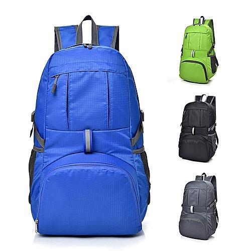 Generic IPRee® 35L Foldable Backpack Ultralight Outdoor Sport Travel  Waterproof Folding School Bag Men Women   Best Price  f65196542066b