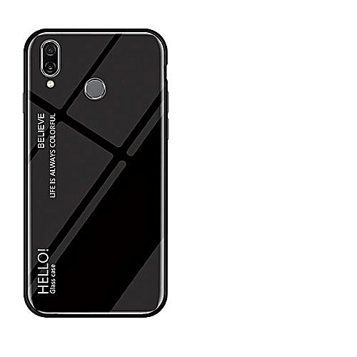 purchase cheap 012b2 1f7c4 Honor Play Case,Ultra Thin Slim Shockproof Protective TPU Bumper Case +  Hard Back Tempered Glass Grip Cover For Huawei H