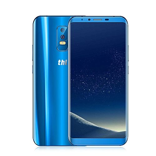 THL Knight 2 4G Phablet Android 7.0 6.0 inch MTK6750 1.5GHz Octa Core 4GB RAM 64GB ROM 13.0MP + 5.0MP Dual Rear Cameras Fingerprint Scanner  BLUE