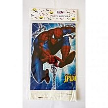 Spiderman party table cover-1pack-multicolored