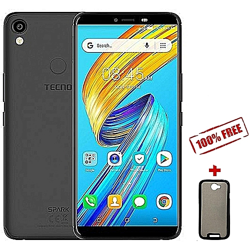 KA7 Spark 2 , 6'', Android 8 1, 16GB+1GB, Face Unlock, finger print sensor,  (Dual SIM), Midnight Black + Free Back cover