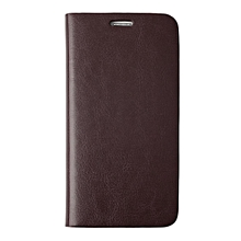 CO New Leather Cellphone Card Holder Wallet Flip Case Cover for Samsung S5-brown