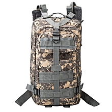 Indepman Dl-b002a Fashion Camouflage Style Men Oxford Cloth Backpack Shoulders Bag 25l Outdoors Hiking Camping Travelling Bag 3p Tactical Package With Expanded Molle & Ind Shoulder Pad & Adjustable Shoulder Strap, Size: 43 X 26 X 23 Cm(acu Digital)