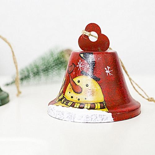 Allwin Christmas bells wrought iron creative painted bells pendant Christmas decorations @ Best Price | Jumia Kenya