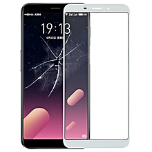 Front Screen Outer Glass Lens for Meizu M6s / Meilan S6(White)