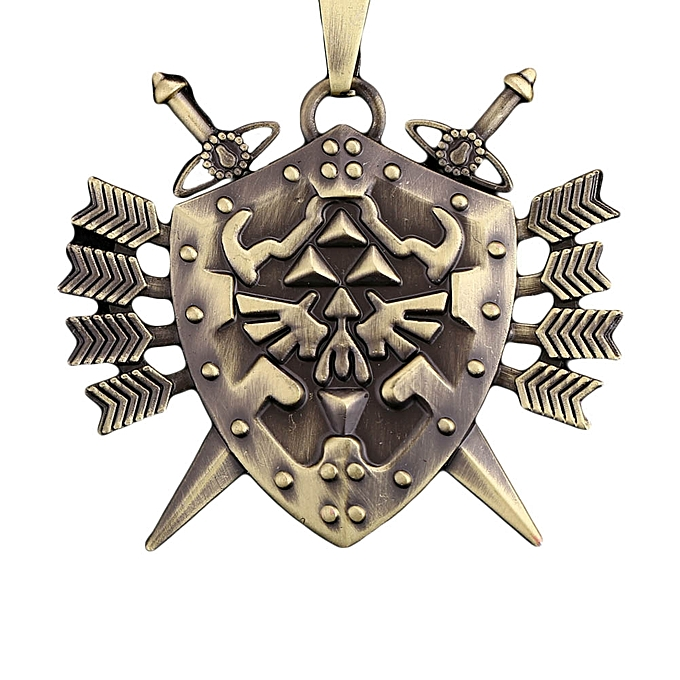 Buy Fashion 1pc Stainless Steel Triforce Symbol Hyrule Legend Of