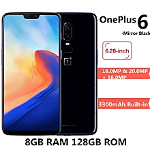 OnePlus 6 4G Phablet 6.28 inch Android 8.1 8GB RAM 128GB ROM