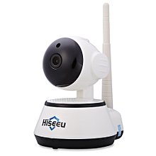 Hiseeu HSY-FH2 Indoor 720P Wireless IP Cam IR-Cut Night Vision Mini Rotatable Smart Security-WHITE