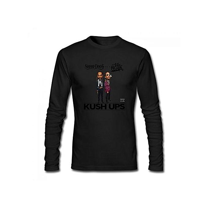 9e9e4168 Generic Snoop Dogg Coolaid Men's Cotton Long Sleeve T-shirt Black ...