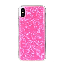 For Apple Iphone X Shells Epoxy Pattern Full Cover Ultra-thin Soft TPU + PC Case