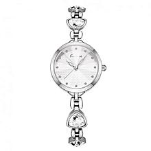 Dinner Ladies Bracelet Luxury Watch K6309S - Silver