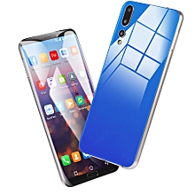 Generic 6.1 Inches Eight nuclear(4GB RAM+64GB ROM ) Smartphone Cell Phone For Android  Dual Sim Dual Stand-blue