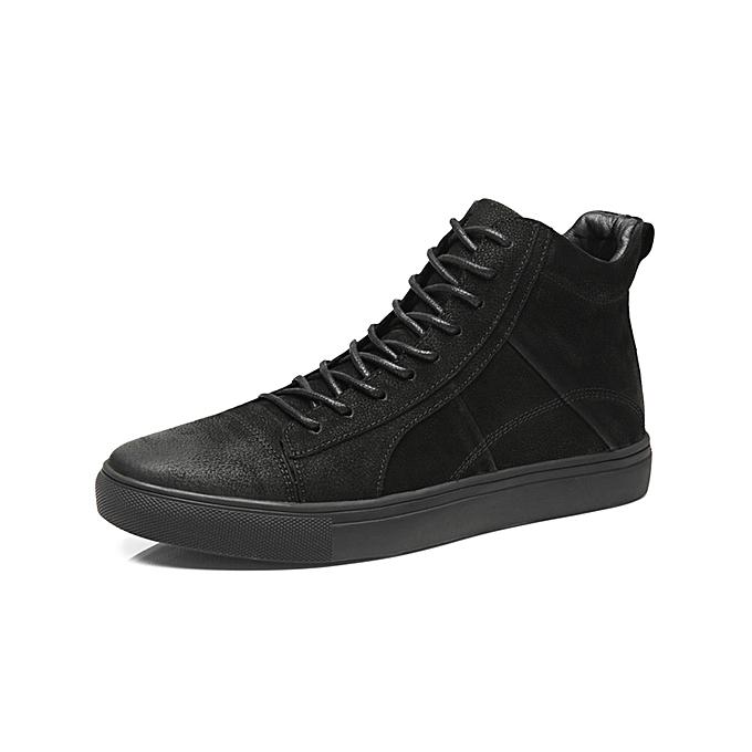 Generic Men High Top Sneaker Skate Shoes Casual High Cut Shoe   Best ... ddf9c0623bb7