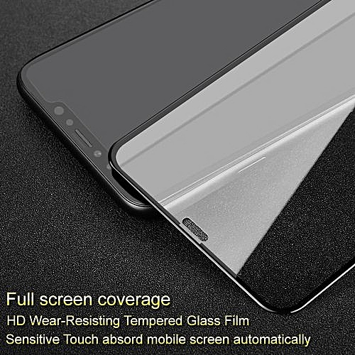 huge discount b60b4 9d266 Pro+ Screen Protector For Apple IPhone X Full Coverage Tempered Glass  Protective For IPhone X Full Glue Absord Automatically