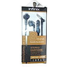 J700 In-Ear Headphones - black