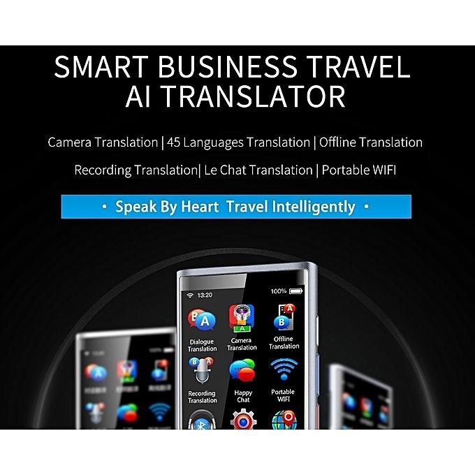 Handheld Smart Real Time Translator BKJY8 Real Voice Translator  Multi-Language Accurate Travel Translator
