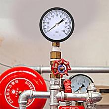 Pressure Gauge 0-100PSI 1/4 BSPT Pressure Gauge Manometer Water Oil Air Pressure Meter