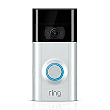 Video Doorbell - Silver & Black