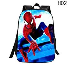 e024718e6b Eleganya New Spider-Man Children Bag Cartoon Dinosaur 16 Inch Female  Student Bag Colorful Pupils