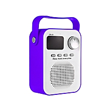 CR - X3 Wireless Bluetooth Speaker - Purple