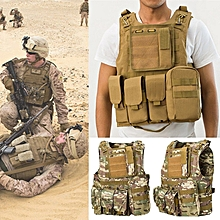Coumouflage Military Tactical Vest Molle Combat Assault Protective Clothes CS Shooting Hunting Vest