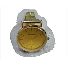 Geneva Watch - Gold