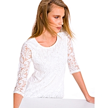 Beige Standard Female T-Shirt