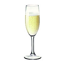 Amboise Champagne Glass - Set of 12 - 17 CL - Clear