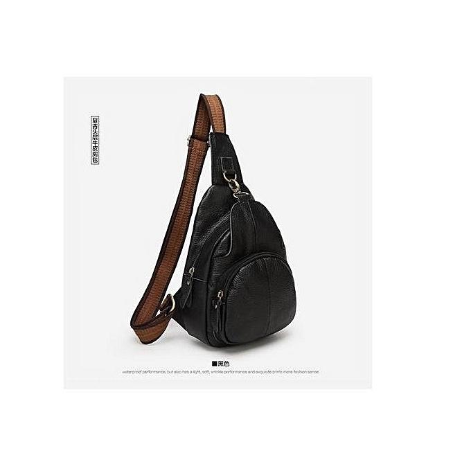 de8e43e17c87 UNIVERSAL Men Women Leather Satchel Shoulder Sling Chest Bag Crossbody  Messenger Purse HOT