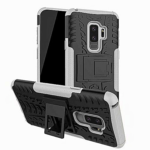new style 3f561 afe9c Case For Samsung Galaxy S9 Plus Mobile Phone Accessories Armor Back Cover  PC Bags Cases For Samusng Galaxy S9 Plus (White)