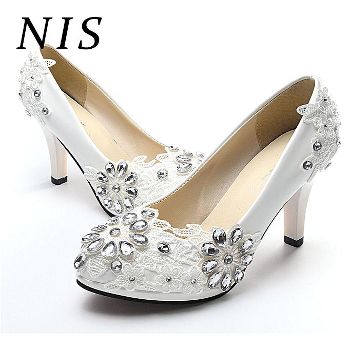 3146f3ffc25 Women Wedding Shoes Bridal High Heels
