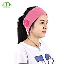 E - WONDERLAND Bluetooth Headband-PINK