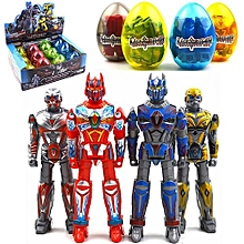 Deformation Egg Toy Plastic Novelty Educational Learning Transformers Random