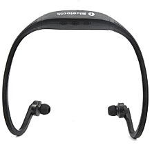 Sports Hands-free Wireless Bluetooth V3.0 Stereo Music Headsets Headphone W/ Mic Calling For Smart Phone (Black) (Color:As First Picture)