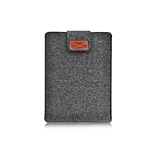 HP-Soft Felt Tablet Sleeve Bag Protective Case Cover for Macbook Air 11.6 Inch dark gray