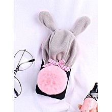 Samsung S9/S9 Plus/S8/S8 Plus/S7/S7 Edge Phone Case Cute Rabbit Design Cartoon Phone Cover____SAMSUNG S7____white