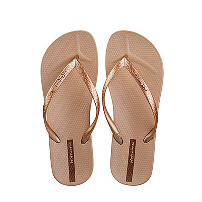 dc81f5bb0dd XIAOMI Hotmarzz Summer PVC Material Women Flip Flops Beach Sandals  Non-slide Casual Slippers