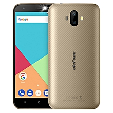 Ulefone S7, 1GB+8GB, Dual Back Cameras, 5.0 inch Android 7.0 MTK6580A Quad Core 32-bit up to 1.3GHz, Network: 3G, Dual SIM(Gold)
