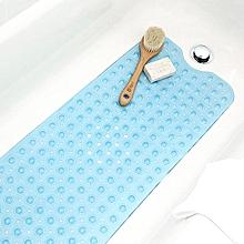 KCASA KC-BM23 Rectangle Non-Slip Mat Machine Washable Bathtub Sution Cup Mat Clear Antibacterial