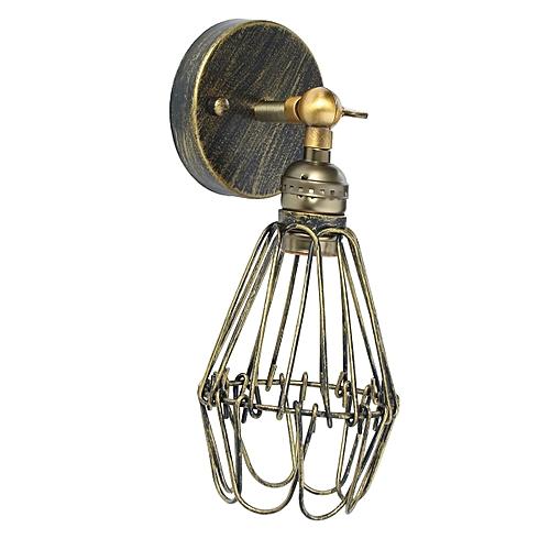 Sensational Generic E27 Morden Loft Metal Vintage Rustic Sconce Wall Light Lamp Wiring Cloud Hisonuggs Outletorg
