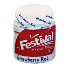 Food Colour StrawBerry Red10g