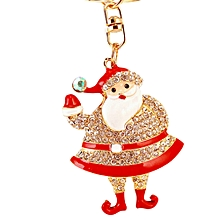 Fashion Gifts Exquisite Realistic Cute Cartoon Santa Claus Key Chain Key Chain