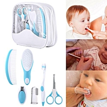 Baby Grooming Care Healthcare Kit Infant Daily Nurse Tool Blue