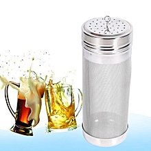 Stainless Steel Homebrew Beer Wine 300 Micron Hopper Filter 7*18cm