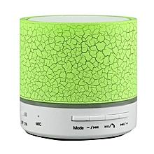 A9 Mini Wireless Bluetooth Round Speaker - Green