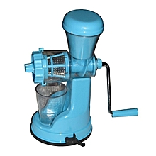 Handheld Fruit and Vegetable Juicer & Extractor - Blue