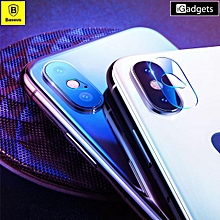 BASUES 0.2mm Full Coverage Camera Lens Glass Film for iPhone XS MAX 6.5 inch LJMALL