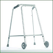Walking Frame With Wheels Model 918/LC91L/BT516