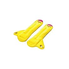 RAWT-11071Y- 1 Kg Wrist Weight – 1 Pair - Yellow